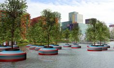 Floating forest to pop up on Rotterdam waters   Inhabitat - Green Design, Innovation, Architecture, Green Building
