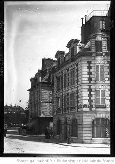 Place Dauphine, vieux Paris [1er arrondissement] :