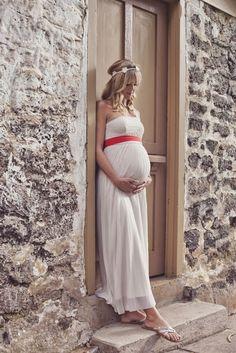 Une bien belle robe de grossesse ! :)
