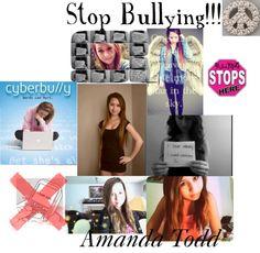 """""""Amanda Todd:'("""" by juliahahaha ❤ liked on Polyvore"""