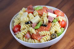 Italian Pasta Salad Recipe - BlogChef Healthy Cooking, Cooking Recipes, Healthy Recipes, Free Recipes, Pasta Salad Italian, Pasta Salad Recipes, Summer Salads, How To Cook Pasta, Pasta Dishes