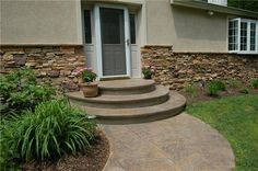Photo Gallery - Steps and Stairs - Warminster, PA - The Concrete Network