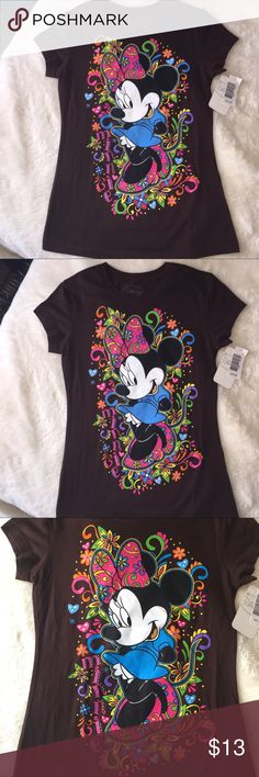 New Minnie Mouse T-Shirt new w/Tags  Sz. Small New w/Tags Minnie Mouse T-shirt from Disney World-oh So Cute!! Adult slim fit Small--will fit child Large Disney Tops Tees - Short Sleeve