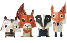 Fun little creatures to make from paper
