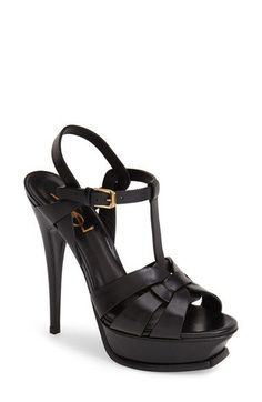 Saint Laurent 'Tribute' Sandal (Women) | Nordstrom