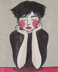 Japanese Woodblock Print by Mara Cozzolino