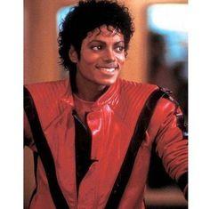 Red Thriller jacket?