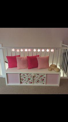 Kallax idea for a girls room
