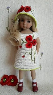 """Outfit for doll 13"""" Dianna Effner Little Darling hand made"""