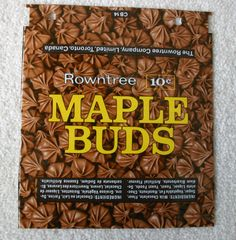 maple buds- these were the best Childhood Toys, Childhood Memories, Retro Candy, Vintage Candy, High School Memories, Vintage Sweets, Nostalgic Candy, Favorite Candy, I Remember When