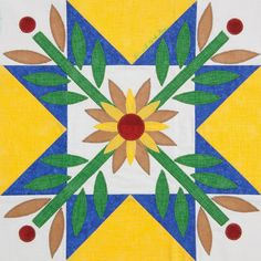 Samplings From A Blue Ribbon Girl: Sunshine and Daisies:Quiltmaker's 100 Blocks Blog Tour