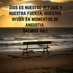 Dios es mi fortaleza.