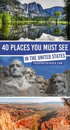 40 Places You Must See In The USA Ready to explore the best of the USA this fall? Check out this awesome guide on the best places to visit in United States, featuring the most unique, beautiful destinations in the… Continue Reading → Usa Places To Visit, Visit Usa, Best Places To Travel, Places To See, Vacation Places In Usa, Vacation Travel, Vacations, Wedding Destination, Destination Voyage