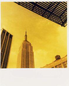 Untitled, 1986, C-print, negative sandwich, Empire State Building, New York, by Mark Morrisroe