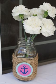 nautical tie the knot centerpiece - Google Search