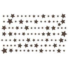 The Decal Guru Starry Night Wall Decal