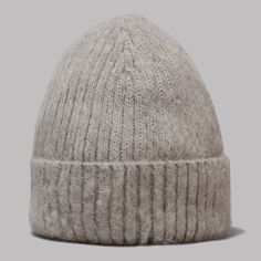 90423a81015 Industry Of All Nations Alpaca Cabin Beanie (Heather Grey)