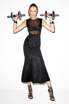 Harper's Bazaar Us Issue: February 2012 Model: Candice Swanepoel Photographer: Terry Richardson Terry Richardson, Summer Workout Plan, Gyms Near Me, Image Mode, Workout Essentials, Provocateur, Glamour, Fashion Articles, Candice Swanepoel