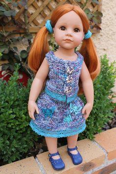 TUTO ENSEMBLE (gilet sans manches + jupe) pour poupée GOTZ 50 cms - http://paolareinacrea.canalblog.com/archives/2015/07/10/32340087.html