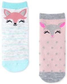 Toddler Girls Critter Midi Socks 6-Pack Cute Socks, Cotton Socks, 6 Packs, Children's Place, Toddler Girls, Packing, Kids, Tights, Bebe