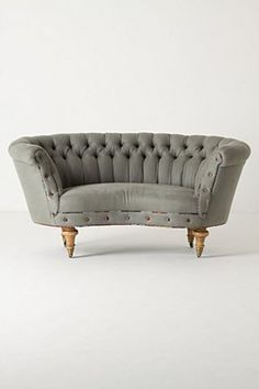 I love this new take on the Chesterfield classic, but I do luurve the original as well... maybe this for living room and original for office?