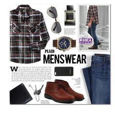 """Rhea Footwear 7 - Men's Fashion"" by anyasdesigns ❤ liked on Polyvore featuring Retrofit, Lands' End, Ray-Ban, Ermenegildo Zegna, FOSSIL, Burberry, Givenchy, Balmain, Tiffany & Co. and men's fashion"