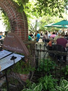 Tin Pan Galley in Sackets Harbor, NY.  Great little restaurant.