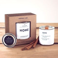 CINNAMON candles. Home candles, Housewarming gifts, House warming gifts, Home gifts, Housewarming gift ideas, Presents for home, Family gift