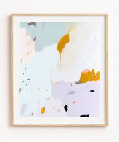 """""""Spectacular abstract hues of mustard, blue, peach and purple 💜 The Dusk print is everything you need to wake up peachy! Graffiti, Big Wall Art, Expressive Art, Framed Prints, Art Prints, My New Room, Abstract Print, Beautiful Paintings, Art Inspo"""