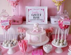 "Sweet Teddy Theme / Birthday ""Sophie's First Birthday"" | Catch My Party"