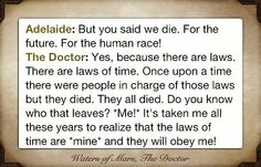 the best quote of the 10th doctor