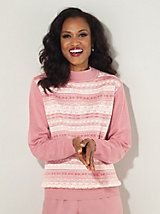Crewneck Sweater by Alfred Dunner | Old Pueblo Traders