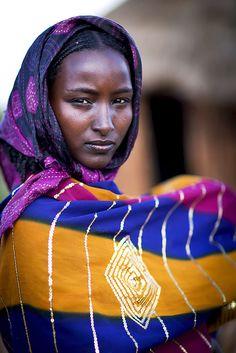 Wife of a Borana chief - Ethiopia by Steven Goethals
