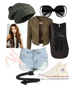 """""""Tough chick"""" by olivia-hop ❤ liked on Polyvore"""