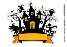 Monster High Halloween, Bolo Halloween, Halloween Stickers, Halloween Trick Or Treat, Halloween Cakes, Halloween Party Decor, Halloween 2020, Halloween Themes, Happy Halloween