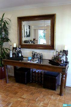 Mini bar nook ideas on pinterest home bars bar and bar carts - Home bar setup ideas ...