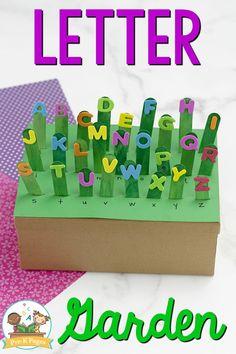 Letter Recognition Activity for Preschool: Alphabet Garden - Pre-K Pages