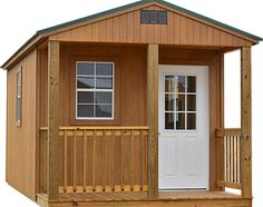 Premier Portable Buildings offers 11 different building models, in three different siding options, with many siding and roof colors, and options to chose from