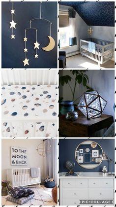 Constellation nursery for boys