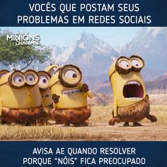 Check The Latest Trailer of Minions by Illumination. The story of Minions begins at the dawn of time. Starting as single-celled yellow organisms Minion Humour, Minion Gif, Minions 1, Minion Movie, Minions Quotes, My Minion, Funny Minion, Image Minions, Minions Images
