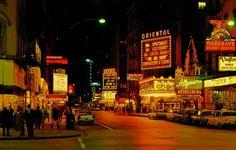 Chicago, Randolph Street 1961