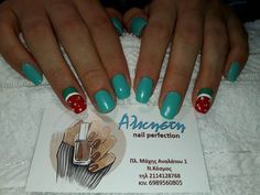 Water melons for Greek summer Watermelon, Greek, Nails, Summer, Finger Nails, Summer Time, Ongles, Greece, Nail