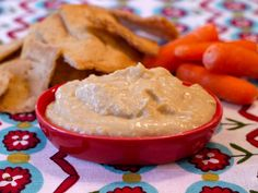Hummus on Weelicious