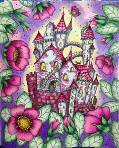 From Klara Markova's Carovne Lahodnosti (Magical Delights). The colorist is Susan Daniel