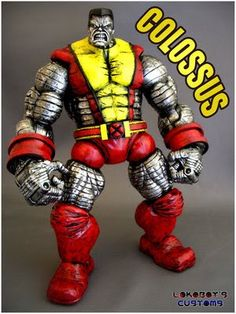 toycutter: Colossus action figure (Marvel Comics)