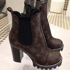 "f70bb7aaeb84  mrs c loves on Instagram  ""Hottest LV boots ever 🔥🔥🔥  louisvuitton   printempsparis"""