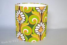 Handmade drum lamp shade retro style  mid century by Madeby247