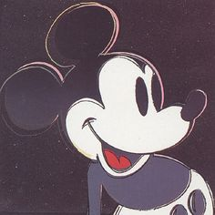'Mickey Mouse' by Andy Warhol.