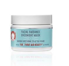 First Aid Beauty - FACIAL RADIANCE OVERNIGHT.  http://www.fotia.is/collections/first-aid-beauty/products/facial-radiance-overnight-mask-50ml