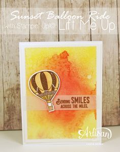 Are you ready for an uplifting blog hop?! The Stamp Review Crew is ready to deliver  The Lift Me Up stamp set and coordinating dies have...